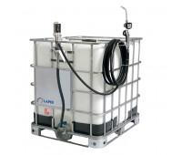 Unidade Pneumática de Abastecimento com Medidor Mecânico para Óleo Lubrificante Lapek LPK-1000MM 1000L 28L/Min