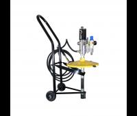 Propulsora Pneumática com Carrinho para Graxa Lapek LPK-12GP1C Adaptável a Baldes de 20kg