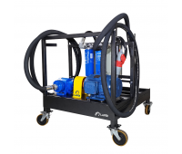 Unidade Móvel para Filtragem de Óleo Lubrificante de Alta Vazão Lapek LPK-C1-OL68 380V 120L/min