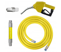 Conjunto para Abastecimento Lapek LPK-CA2C-AM com Mangote Válvula Breakaway Mangueira e Bico Automático
