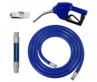 Conjunto para Abastecimento Lapek LPK-CA2C-AZ com Mangote Válvula Breakaway Mangueira e Bico Automático