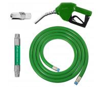 Conjunto para Abastecimento Lapek LPK-CA2C-VD com Mangote Válvula Breakaway Mangueira e Bico Automático