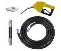 Conjunto para Abastecimento Lapek LPK-CA2P-AM com Mangote Válvula Breakaway Mangueira e Bico Automático