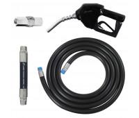 Conjunto para Abastecimento Lapek LPK-CA2P-PT com Mangote Válvula Breakaway Mangueira e Bico Automático