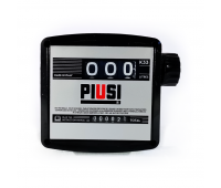 "Medidor Mecânico para Diesel Piusi LPK-M63D-P 120LPM 1"" BSP 3 Dígitos"