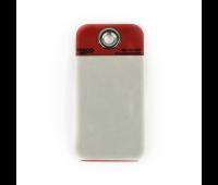 Tarjeta de Identificação em PVC Vermelha Trico LPK-37075