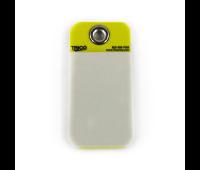 MIX-37077-Tarjeta-de-identificação-em-PVC-amarela-Trico-n01