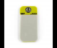 Tarjeta de Identificação em PVC Amarela Trico 0254