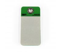 MIX-37078-Tarjeta-de-identificação-em-PVC-verde-Trico-n01