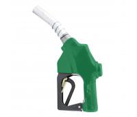 """Bico de Abastecimento Automático OPW MIX-7H-VD Verde Entrada e Ponteira 18 Cm 1"""""""