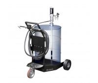 Unidade Móvel Pneumática com Medidor Mêcanico para Óleo Lubrificante Lubmix MIX-91224 15mts de mangueira 28 L/min.