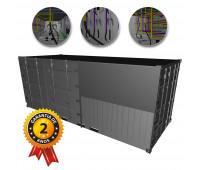 Container de Lubrificação Completo LUBMIX MIX-CONT-LUB-6-1-1