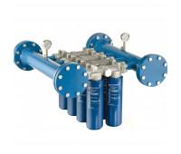 Cabeçote para Instalação em Linha Donaldson com Capacidade de 08 Elementos Filtrantes 1893LPM LPK-CPIL8F
