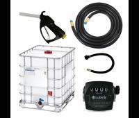 Kit para Abastecimento de Diesel por Gravidade Lubmix com Bico de Abastecimento e Medidor Mecânico