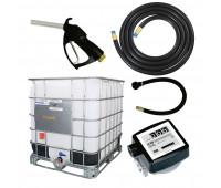 Kit para Abastecimento de Gasolina por Gravidade Lubmix com Bico de Abastecimento e Medidor Mecânico a Prova de Explosão