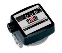 Medidor Mecânico para Óleo Lubrificante Piusi MIX-MM13D 03 Dígitos Ø 1 Pol BSP