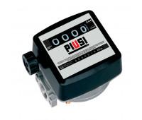 Medidor Mecânico para Óleo Lubrificante Piusi MIX-MM14D 04 Dígitos Ø 1 Pol. BSP