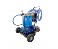 Unidade Móvel para Filtragem de Óleo Lubrificante e Diesel Quadrupla Lubmix MIX-UMF4-380 380V 45L/min