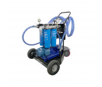 Unidade Móvel para Filtragem de Óleo Lubrificante e Diesel Quádrupla Lapek LPK-UMF4-380 380V 45L/min
