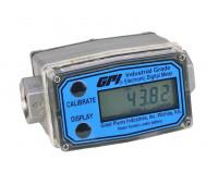 Medidor Digital Modular para Diesel Gasolina Etanol Arla 32 e Querosene GPI 2190 38LPM 1-2 Polegadas NPT