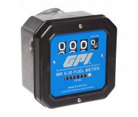 Medidor Mecânico para Avagas e QAV Querosene GPI 2196 04 Dígitos até 114LPM