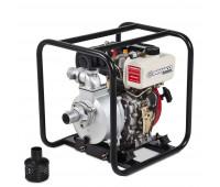 Motobomba Partida Manual para água Branco BD-710 Autoescorvante 35 m3/h Motor 5CV Sucção 2Pol