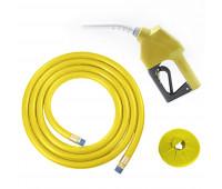 """Kit Abastecimento OPW Bico Automático 11B com Protetor Anti Respingo e Mangueira Ø 3/4"""" 5m Lubmix Terminal Alumínio 1F 1G MOW-KB-CL-AM"""