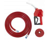 """Kit Abastecimento OPW Bico Automático 11BP com Protetor Anti Respingo e Mangueira Ø 3/4"""" 5m Lubmix Terminal Alumínio 1F 1G MOW-KBP-CA-VM"""