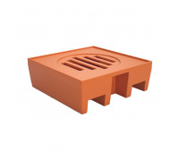Pallet de Contenção Lubmix PL045 Capacidade de 100 Litros para 1 Tambor