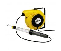Carretel com Lanterna LED Flourescente 24V Zeca Z4024 com 14M de Cabo Elétrico e 1-5M de Cabo Alimentação Automático Blindado