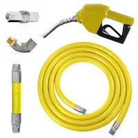 Conjunto para Abastecimento Lapek LPK-CA3C-AM com Mangote Válvula Breakaway Mangueira Junta Giratória e Bico Automático