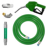 Conjunto para Abastecimento Lapek LPK-CA3C-VD com Mangote Válvula Breakaway Mangueira Junta Giratória e Bico Automático