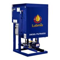 Filtro Flash para Tratamento de Óleo Diesel Lubmix MIX-FL1CV-1 Simples Tipo Prensa