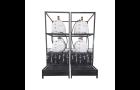 Prateleira de Lubrificação Quádrupla Lubmix MIX-PTL4-OL250 Modular 4x250Lts 4xMotor IP55 20Lpm